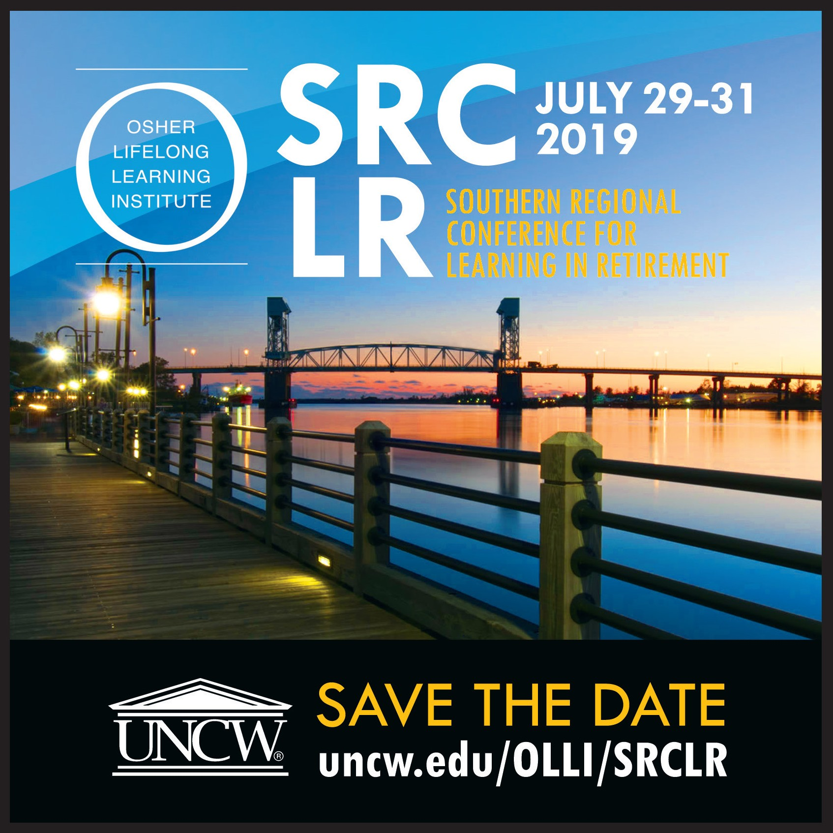 SRCLR 2019 Save the Date