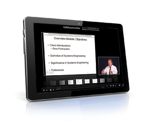 PDSolutions online learning course on a mobile device