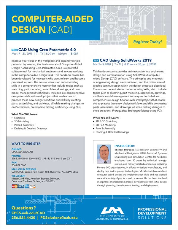 Computer-Aided Design[CAD] Flyer