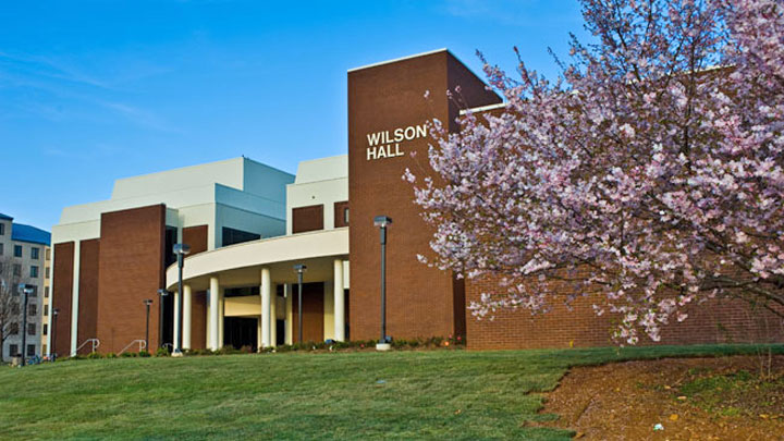 Wilson Hall Front Entrance
